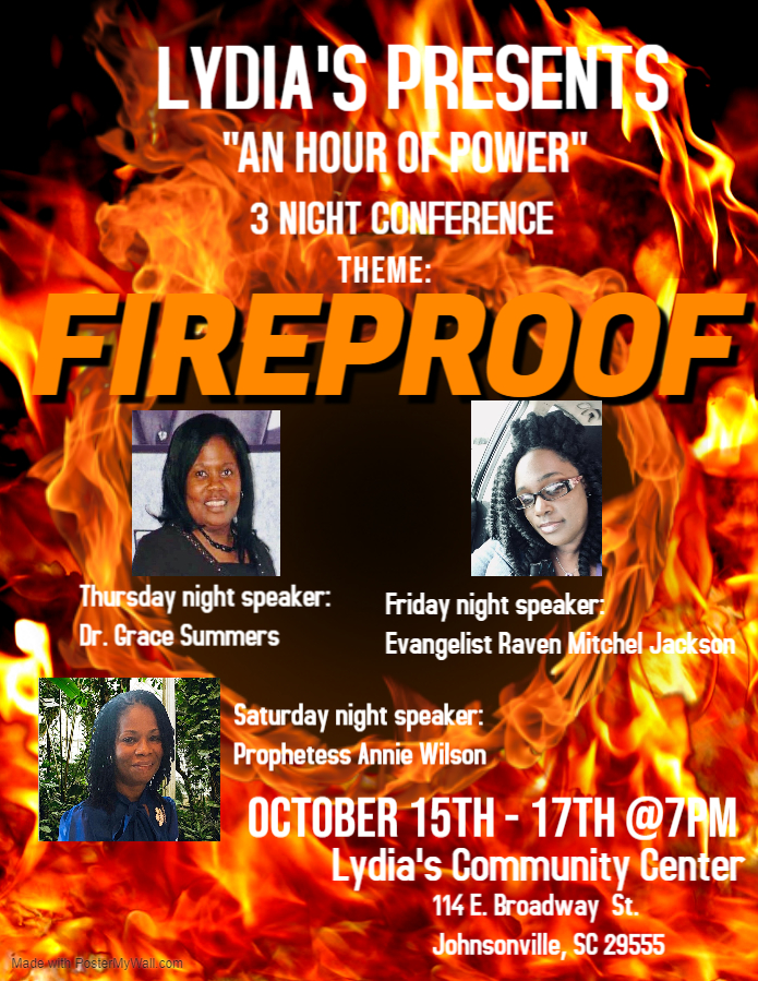Fireproof conference